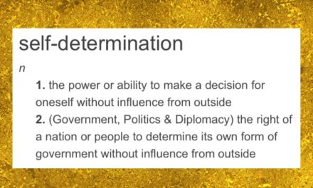 Excerpt on Self-Determination