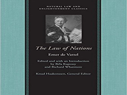 Role of Law of Nations in America's Founding